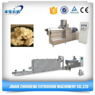 textured soya protein processing machines line