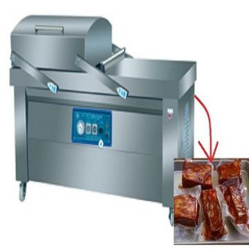 Large Batch Product Double Chamber Vacuum Packing Machine For Pork Skin Instant Food