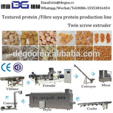 Tissue protein /textured protein production line 500kg/h with CE ISO certificated