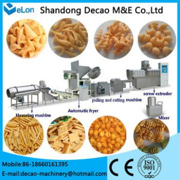 fried wheat flour chips processing line