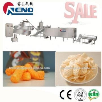 puff corn snacks making line