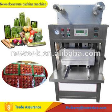 Neweek nitrogen case packing snack box fruit vacuum sealing machine