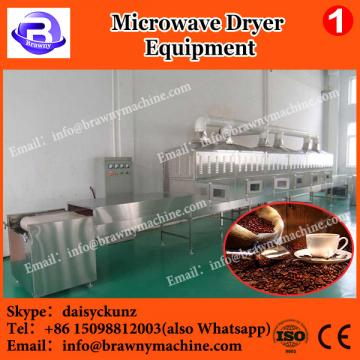 Conveyor belt microwave tobacco leaves dryer and sterilizer