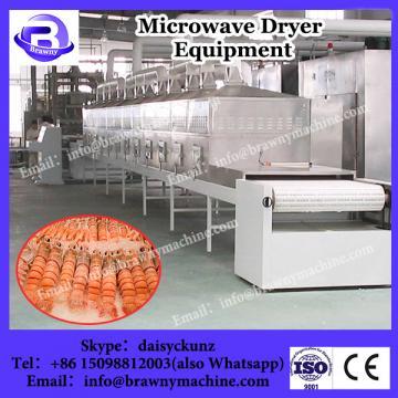 apple skin tunnel microwave drying machine
