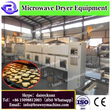 high efficiency tunnel microwave drying equipment for kidney bean