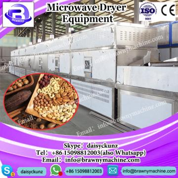 factory supply continuous microwave drier for the bank of eucommia