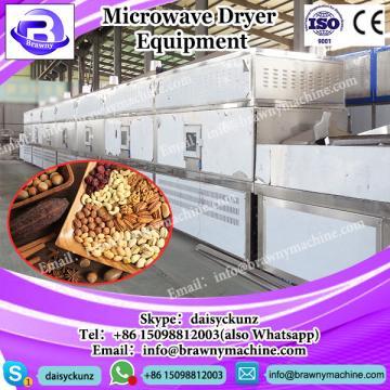 low consumption continuous microwave drier for pea/sterilization