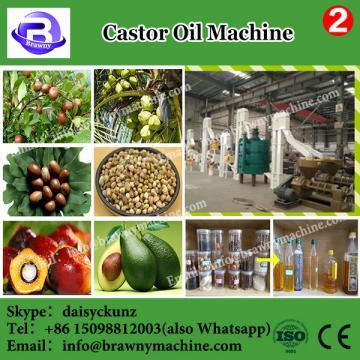 castor heat oil press machine