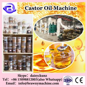 Vegetable seeds castor oil extraction