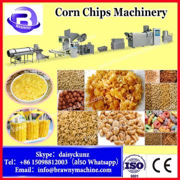 Fried fryum chips food maker equipment line/ 3d 2d snack pellet extruder machine/Wheat puff corn snack production process