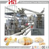 China easy operation gas Rice cracker production line