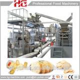 Whole set high capacity gas Rice cracker production line