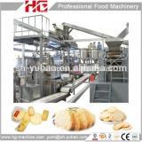 automatic 2.5 ton/day salty Senbei equipment