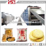 made in china factory price rice cracker forming plant