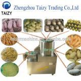 Stainless steel fruit vegetable potato washing peeling and slicing machine /potato chips slicer
