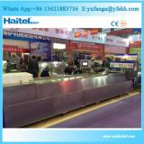Low price of jelly candy processing line with plc high quality