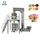 Granule Snacks Food Automatic Vertical Packing Machine with Multi Heads Weigher