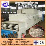 microwave Kraft paper dehydration and sterilizer machine/equipment