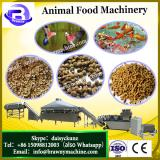 Small single screw poultry feed machine / Manual dry dog food making machine