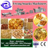 Fried continuous double Screw Extruded bugles slanty chips Sala pellet Frying Snack Machinery