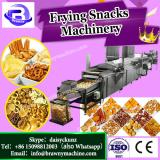 Wheat twisted oval triangle snack pellet papd fryum food frying machine